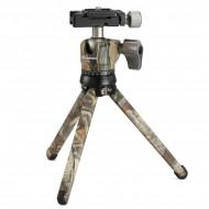 Kit Leofoto MT-01 + rótula LH-25 camuflaje